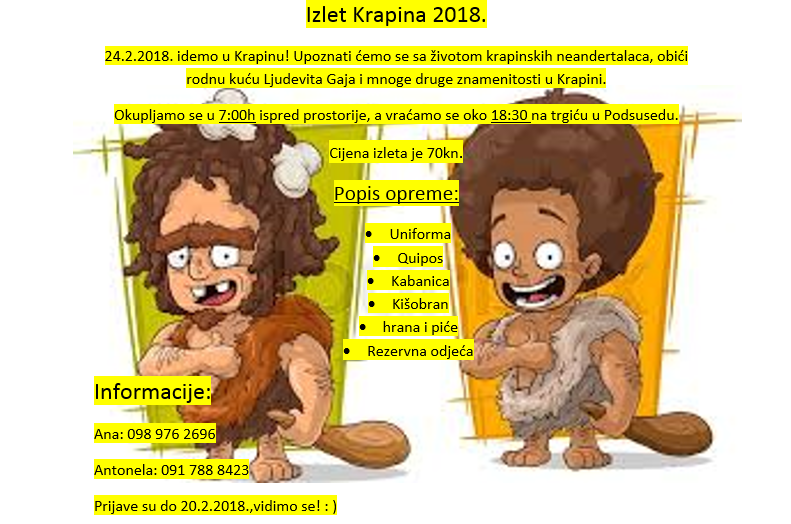 Krapina 2018